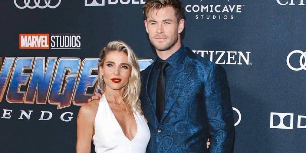 La esposa de Chris Hemsworth ya no quiere ver más su martillo de Thor