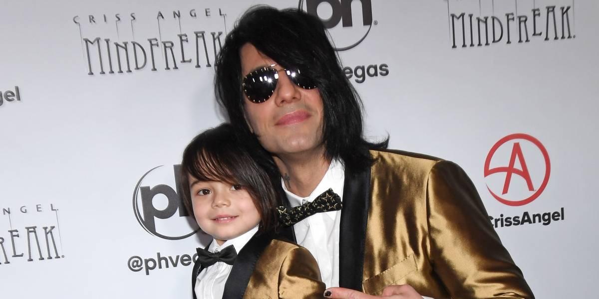 Criss Angel, famoso mágico da televisão, fala sobre câncer do filho de 5 anos