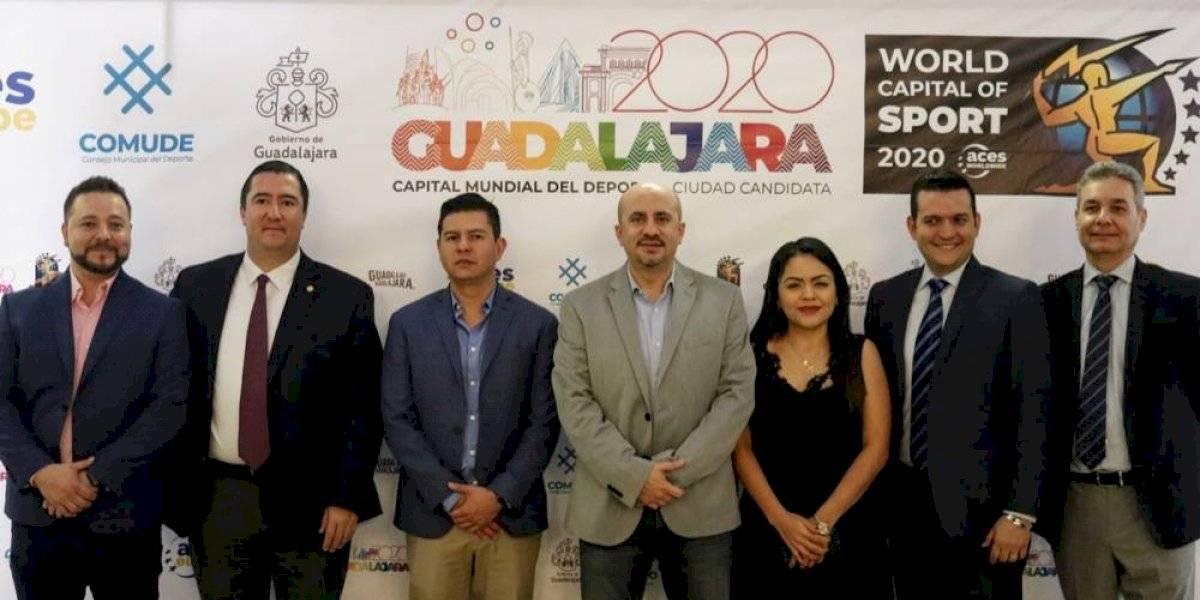 Guadalajara es designada Capital Mundial del Deporte 2020