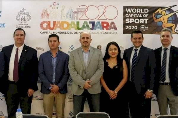 Reconocen a Guadalajara como la Capital Mundial del Deporte