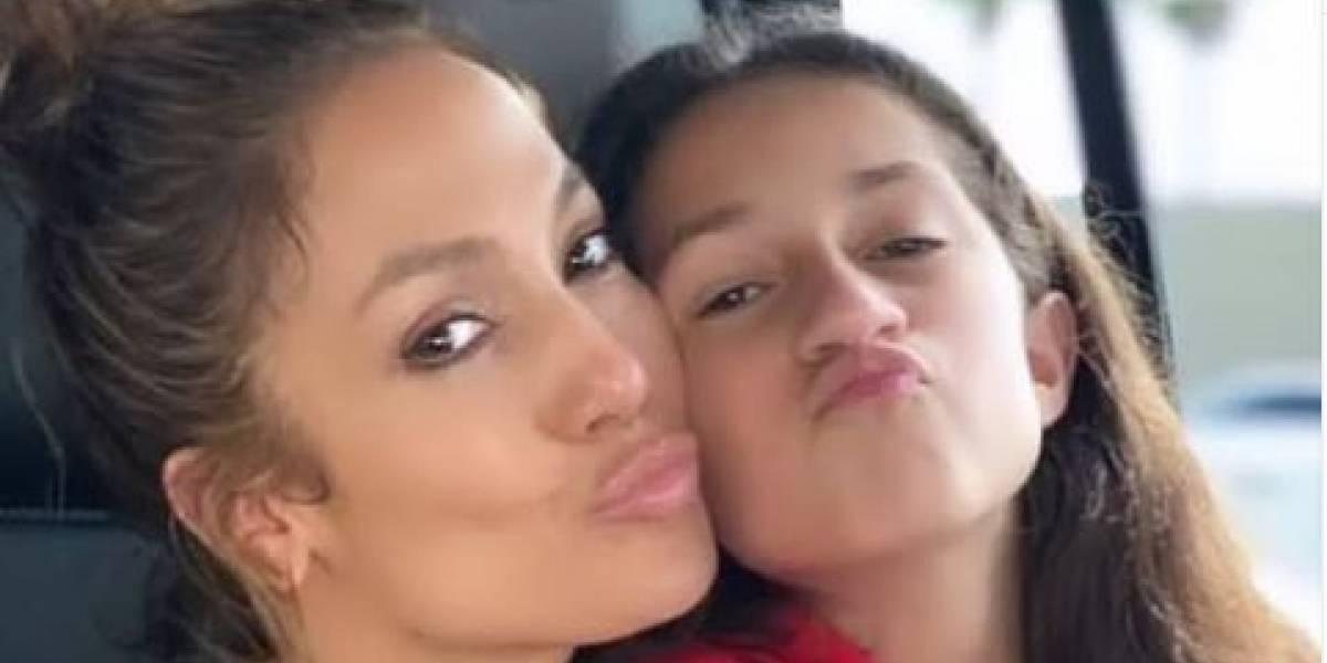 La hija de Jennifer López ha crecido y estas fotos lo comprueban