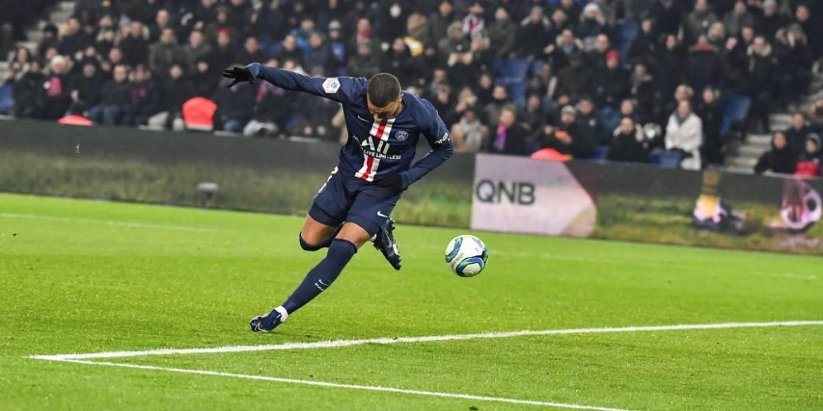 VIDEO: ¡De taquito! Kylian Mbappé marca golazo con el PSG