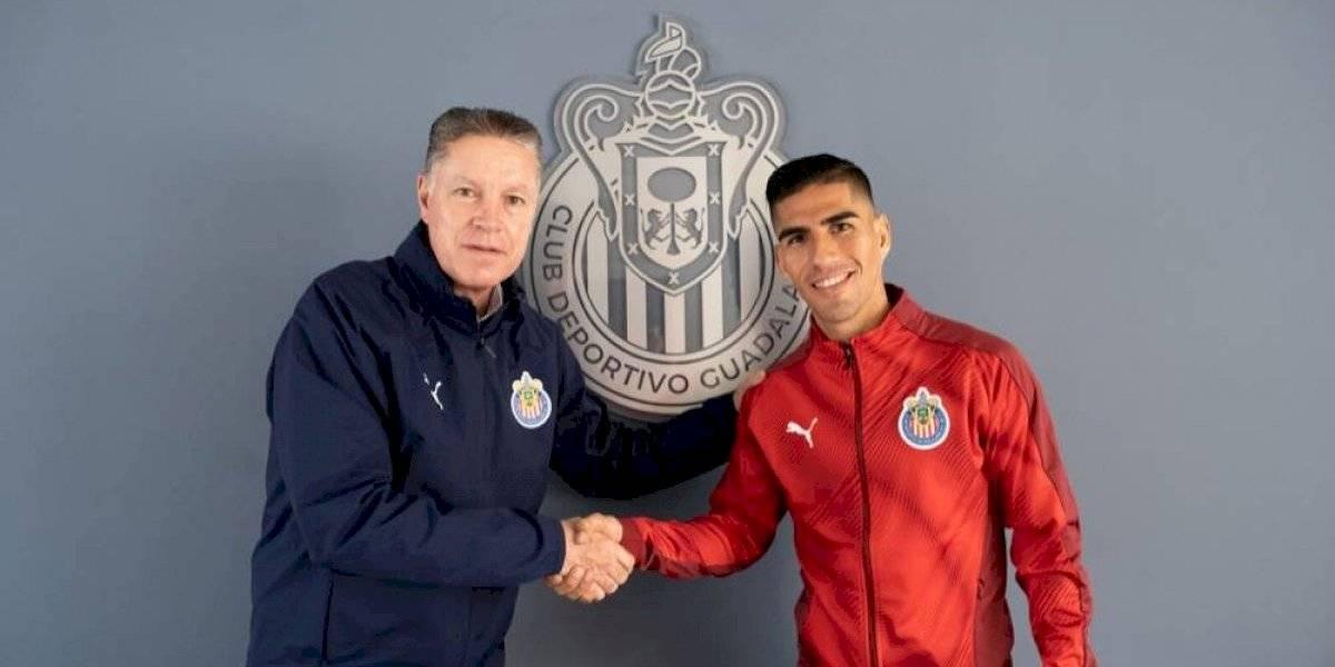 """""""Me veo campeón con Chivas"""": José Madueña"""