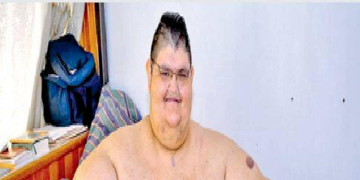 Juan Pedro celebra la pérdida de 334 kilos