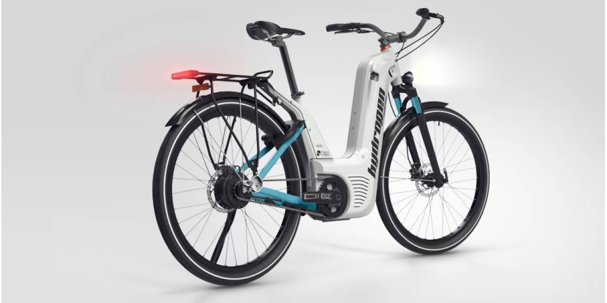 Alpha es una impresionante bicicleta que usa hidrógeno para correr sin esfuerzo