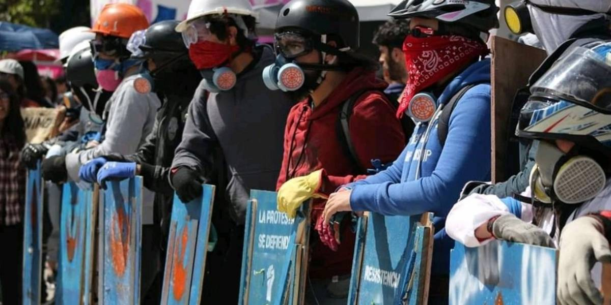 Primera Línea: la formación que protege a las marchas del Esmad