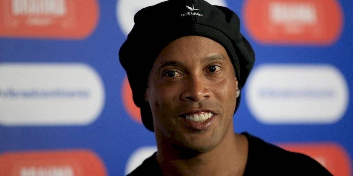 Ronaldinho acepta invitación para jugar en Zacatepec