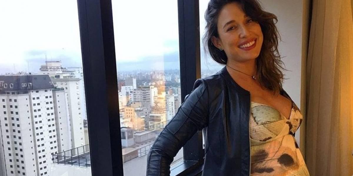 'Você é minha vida', diz Giselle Itié sobre primeiro filho