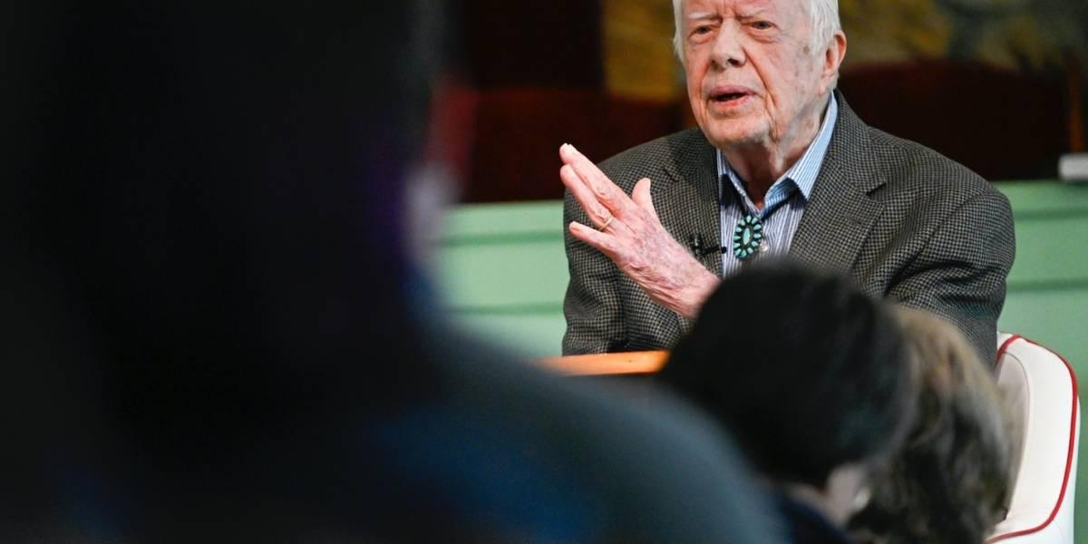 Jimmy Carter es dado de alta de hospital tras infección