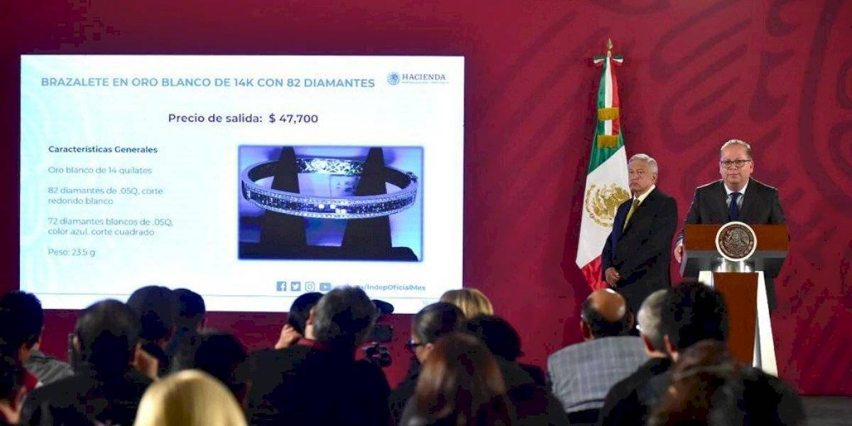 Gobierno espera recaudar más de 35.3 mdp en sexta subasta en Los Pinos
