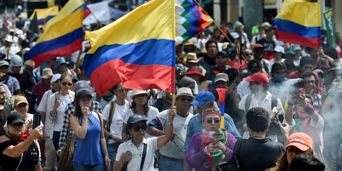 """EN IMÁGENES. Colombianos protestan contra políticas de Duque en tercer """"paro nacional"""""""