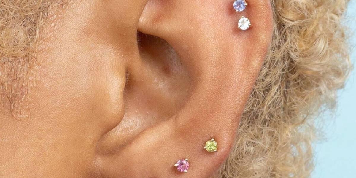 10 ideias de piercing para orelha