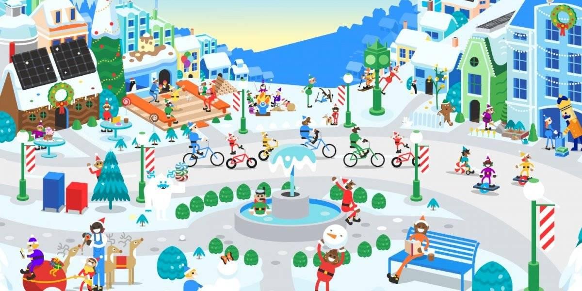 Sigue el recorrido de Santa Claus con Santa Tracker