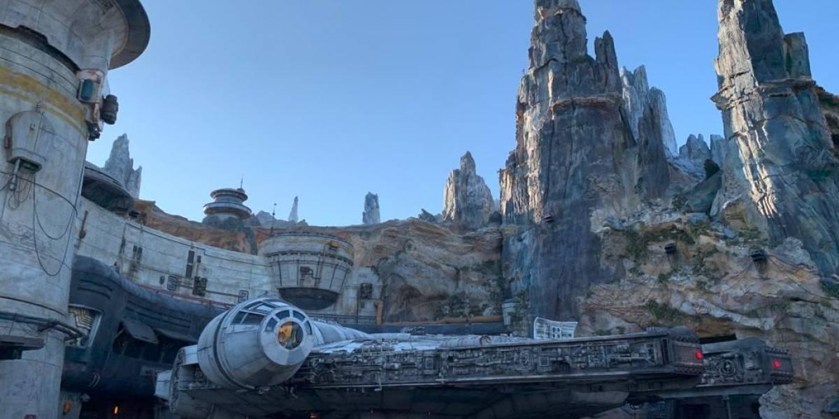Recorrido por el planeta 'Batuu' de Star Wars: Galaxy's Edge