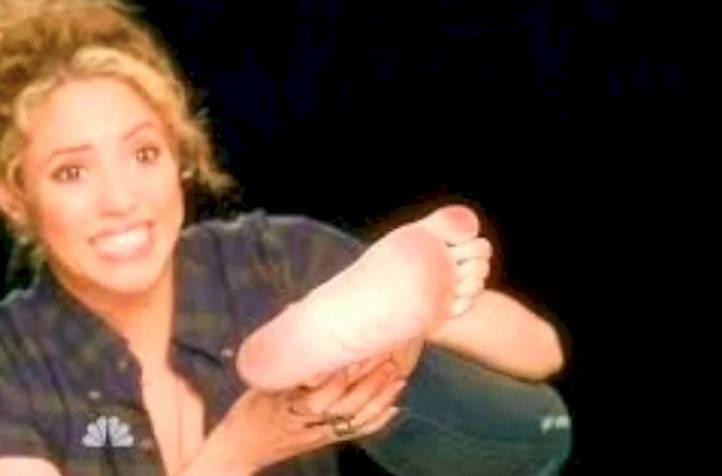 Pies de Shakira