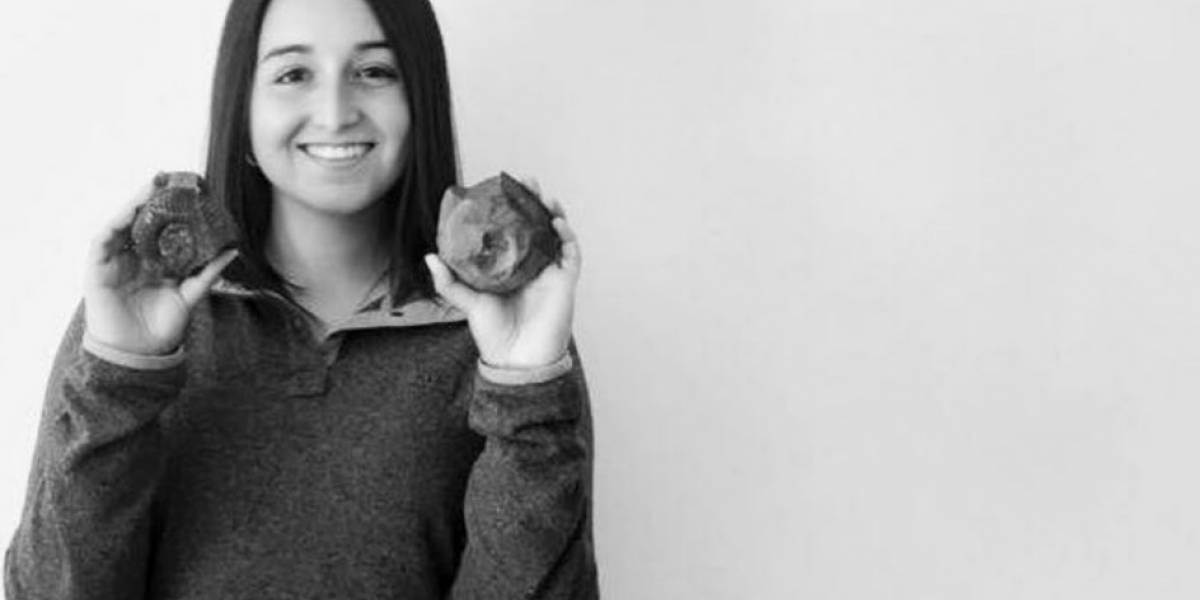 Conoce a la estudiante que halló un fósil en medio de las manifestaciones en Chile