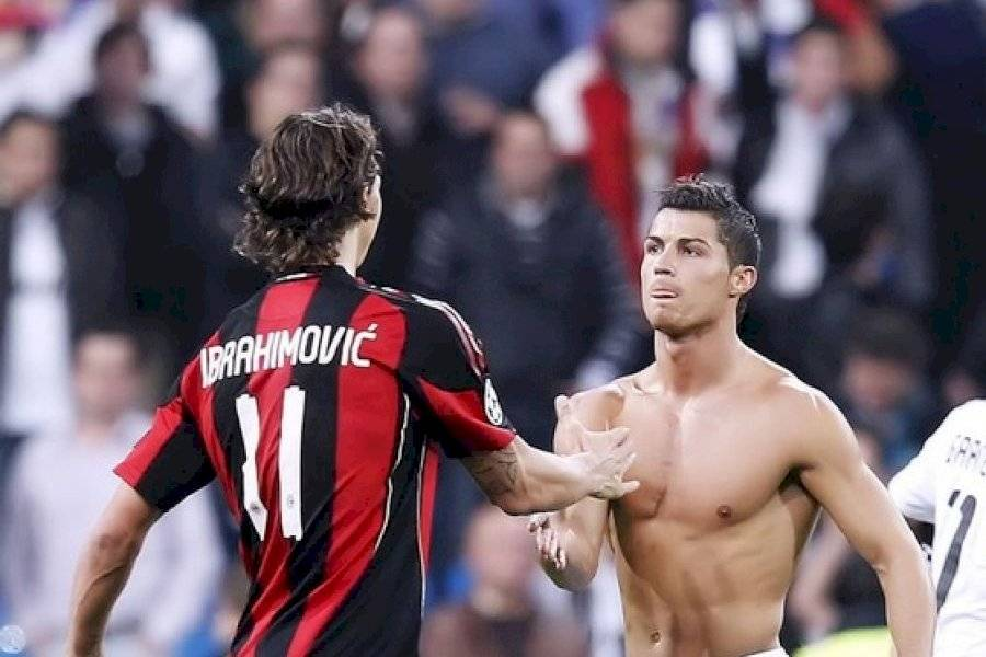 Zlatan Ibrahimovic Tiene Claro Quien Es El Verdadero Ronaldo
