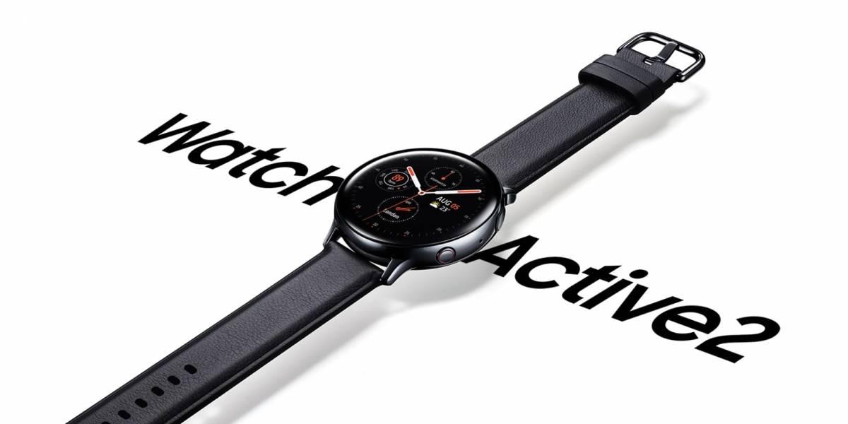 Samsung lanza en Chile su nuevo reloj inteligente Galaxy Watch Active2