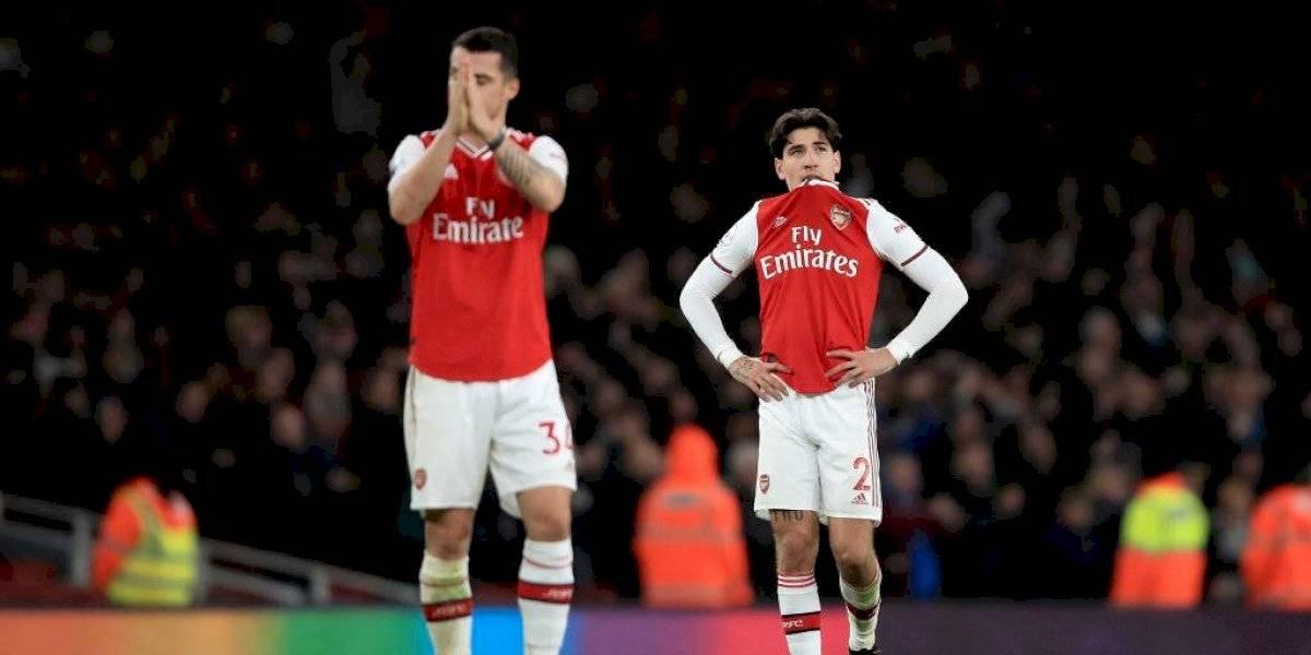 Arsenal volvió a caer y alargó su racha a ocho partidos sin ganar en Premier League