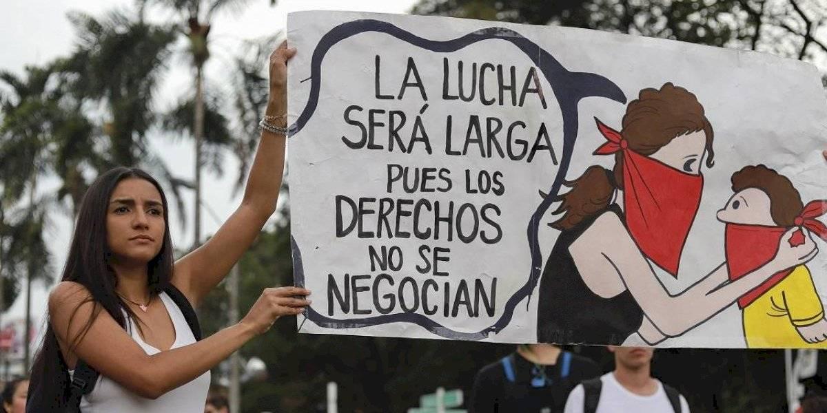 Las exigencias de las mujeres que marchan en Medellín