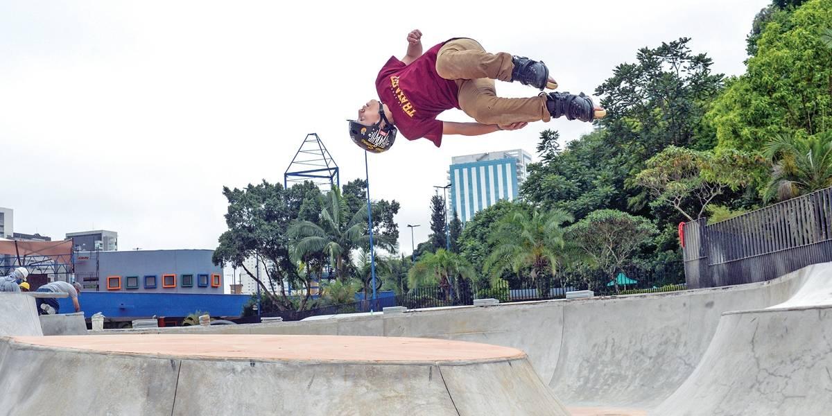 Parque de esportes radicais em São Bernardo reabre com shows e competições