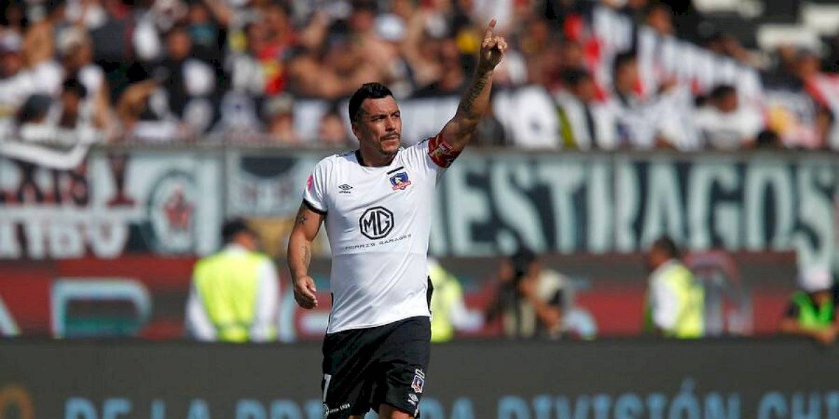 Esteban Paredes debe mantener su registro goleador en Colo Colo para igualar el récord de Caszely en seis meses