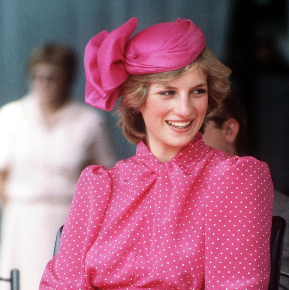 vestido de la princesa Diana