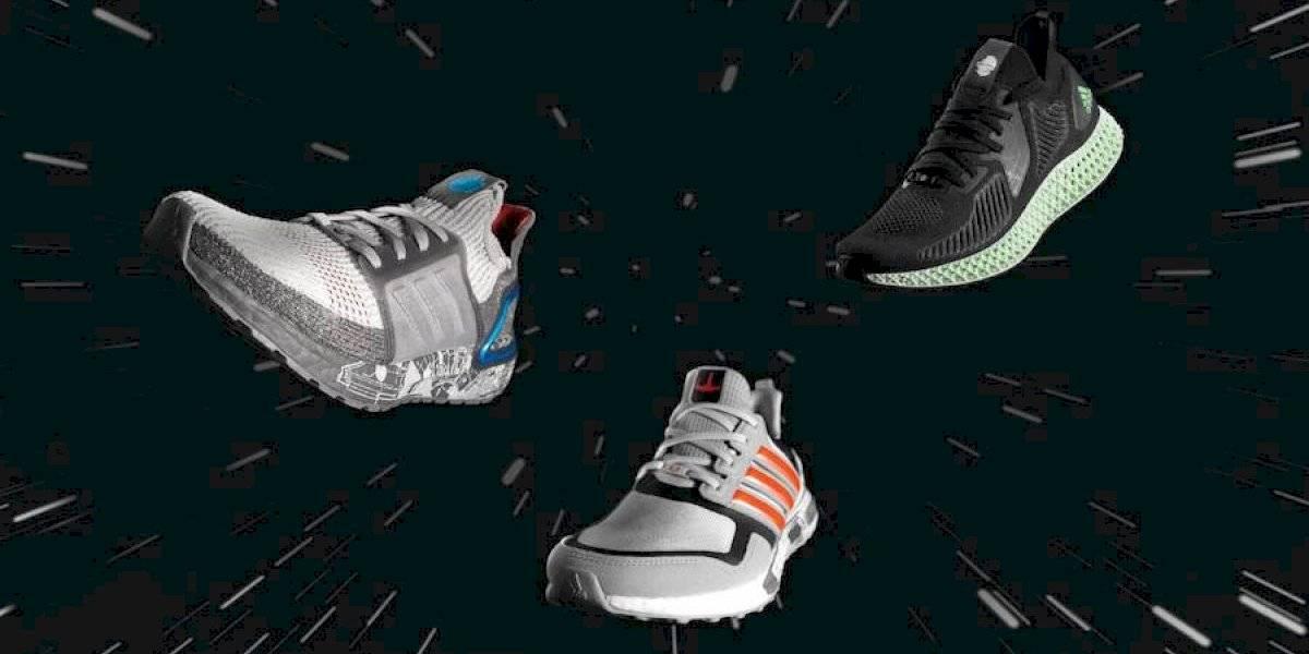 Adidas lanza en Chile su nueva colección de zapatillas de Star Wars