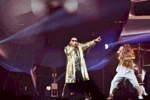 Daddy Yankee regala otra función a asistentes de su primer concierto