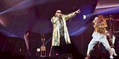 Daddy Yankee en su primer concierto en el Choliseo