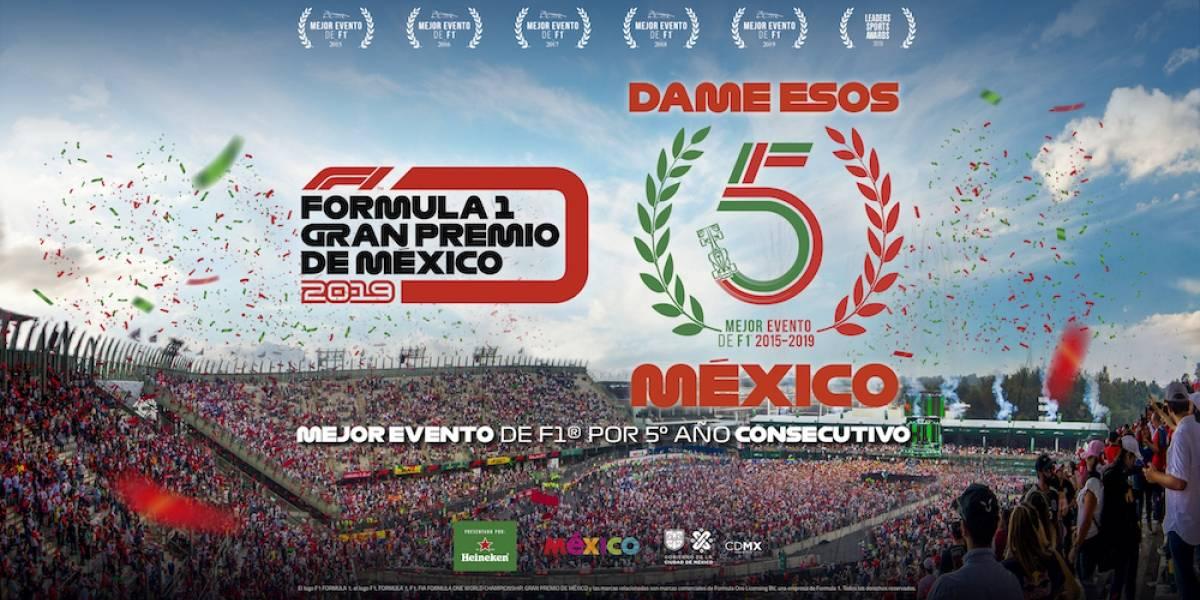 Mejor carrera de 2019 — GP de México