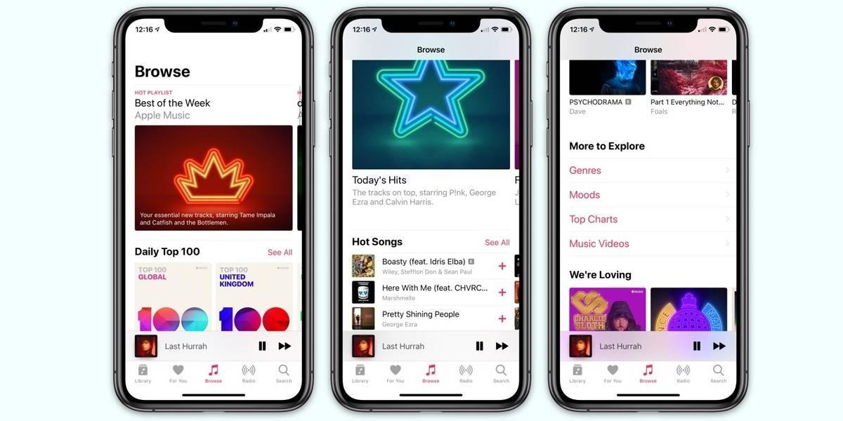 Apple Music imita a Spotify y revela sus canciones más sonadas en 2019