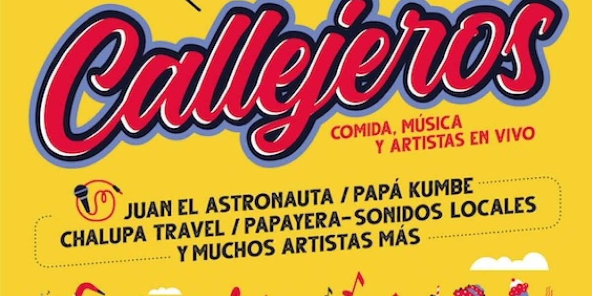 Vuelve 'Callejeros', un festival con mucha comida y música