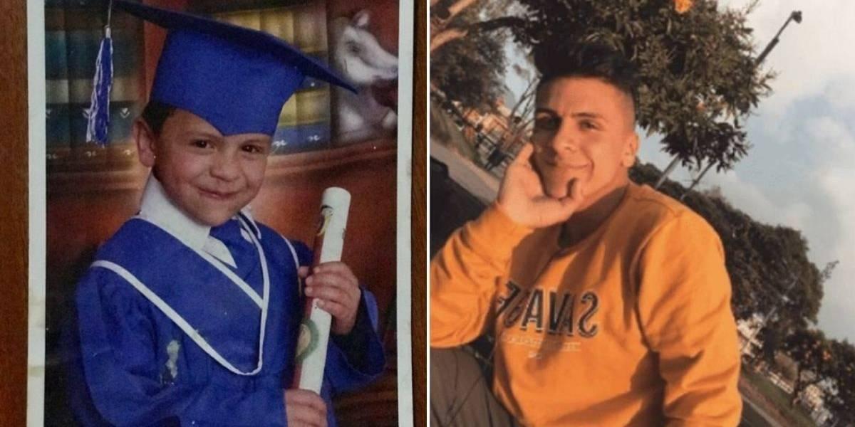 Hermana de Dilan Cruz publica foto de él con toga y birrete cuando estaba pequeño
