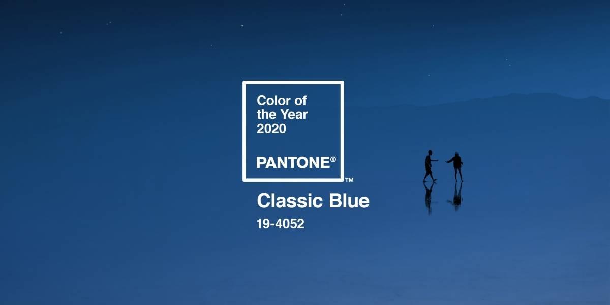 Pantone escolhe 'azul clássico' como a cor de 2020 e os memes já surgiram