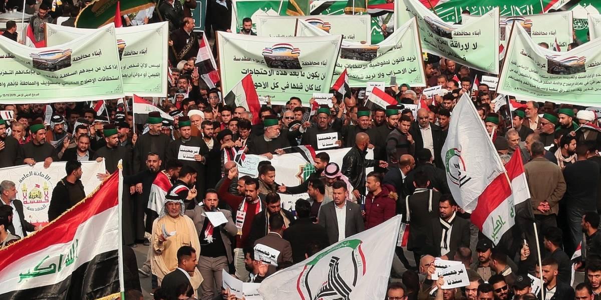 Tiroteo contra manifestantes en Bagdad deja 15 muertos