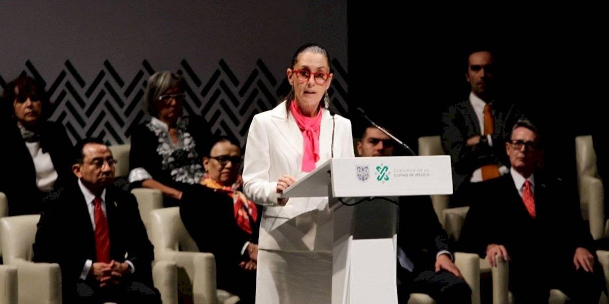Claudia Sheinbaum rinde informe a un año de gobierno en CDMX