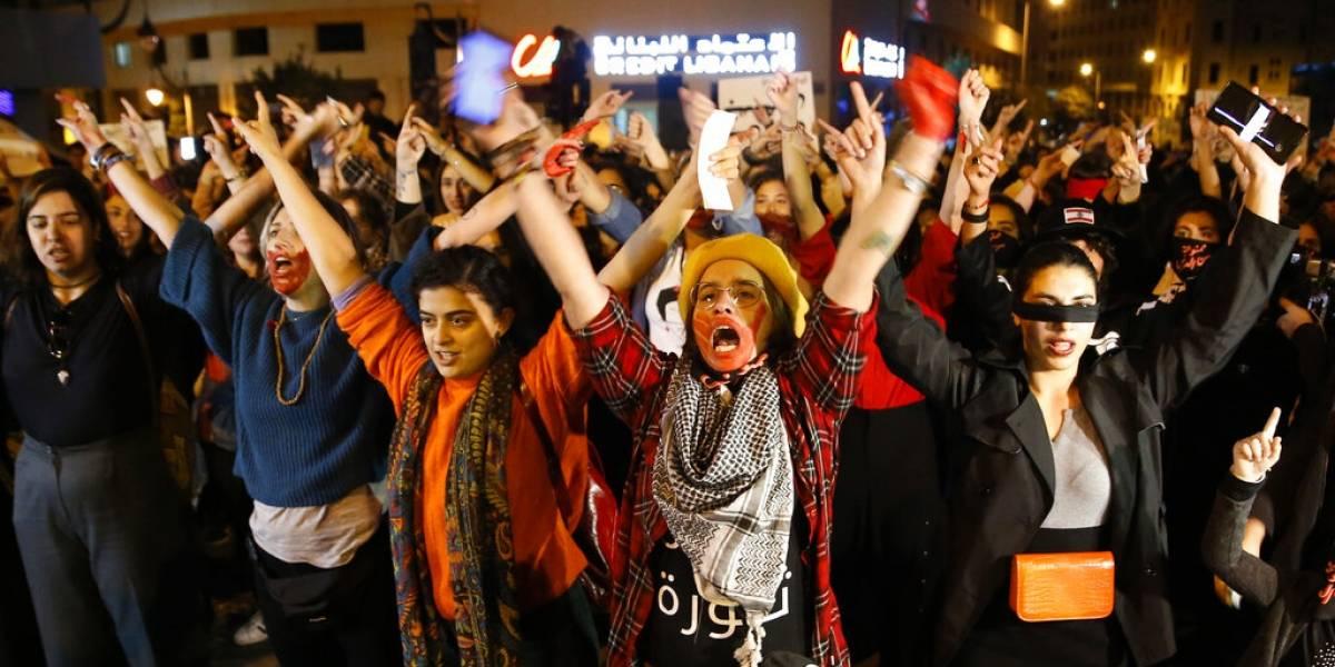 """""""El violador eres tú"""" llega con fuerza a Líbano y a la India"""