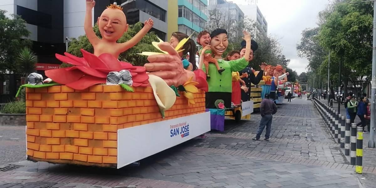 Fiestas de Quito: Vías cerradas por el desfile 'Mascarada nocturna' este 07 de diciembre