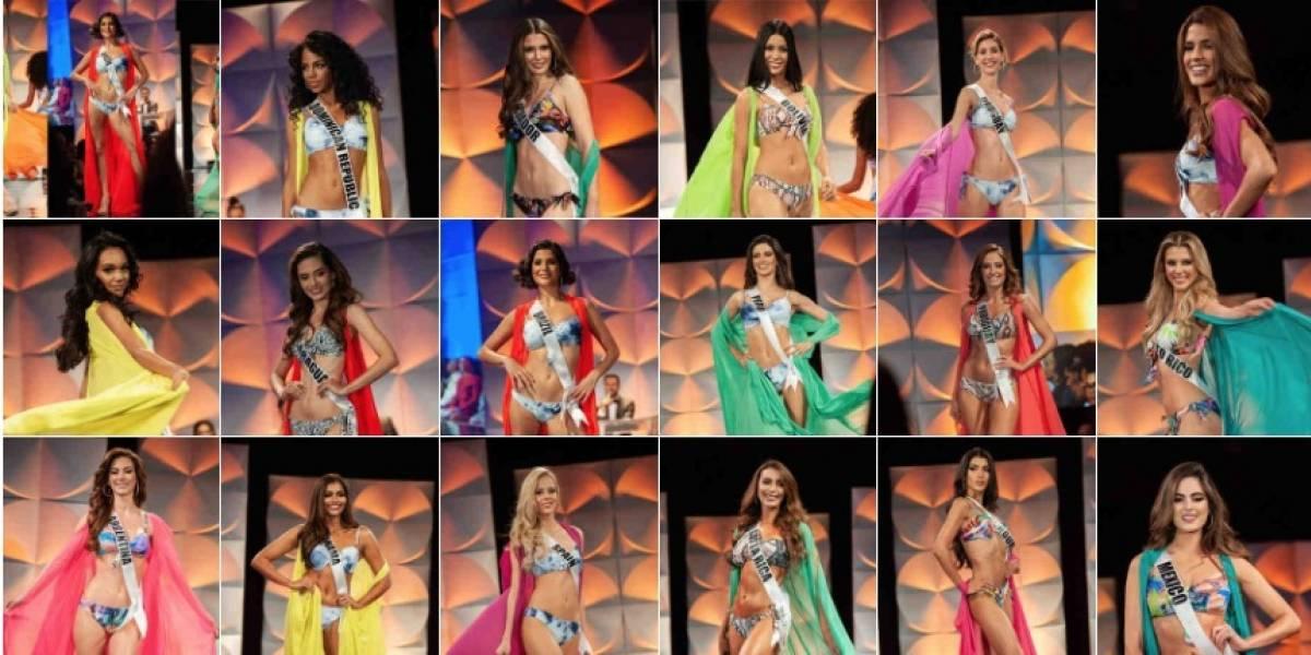 ¡Al piso! Miss Francia, Miss Malasia y Miss Uruguay en las preliminares del Miss Universo 2019