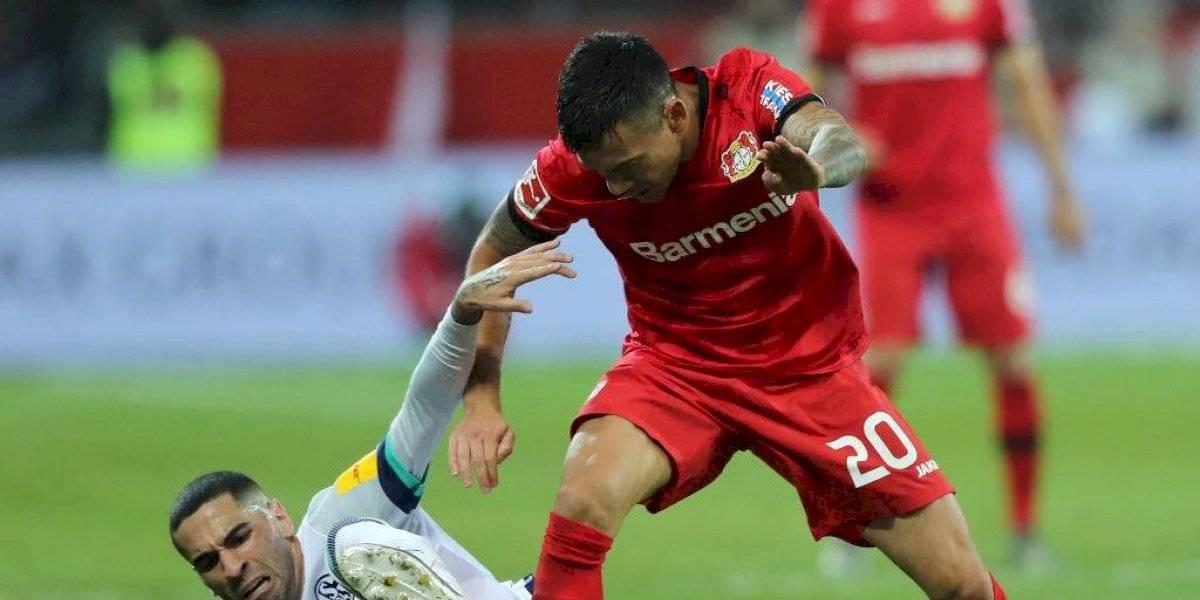 Aránguiz entregó una asistencia en ajustado triunfo del Bayer Leverkusen sobre el Schalke 04 por la Bundesliga
