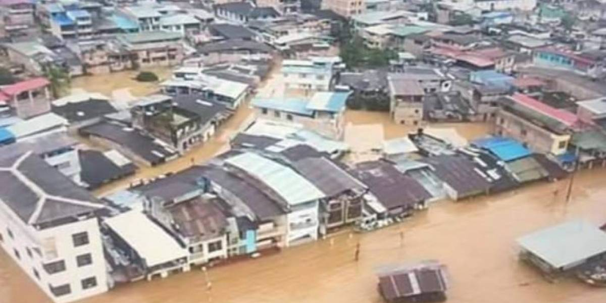 Por inundaciones hay 6.000 familias damnificadas en Barbacoas, Nariño