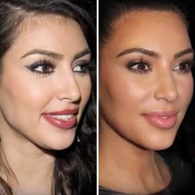 Kim Kardashian quiere afuera del reality a su hermana Kourtney