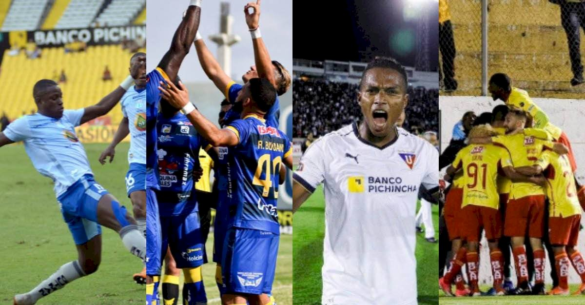 Liga de Quito vs Delfín API
