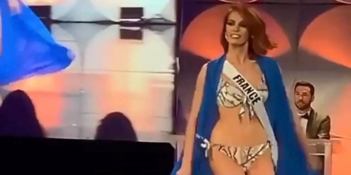 Tropiezos, caídas y más tropiezos en preliminar de Miss Universo 2019