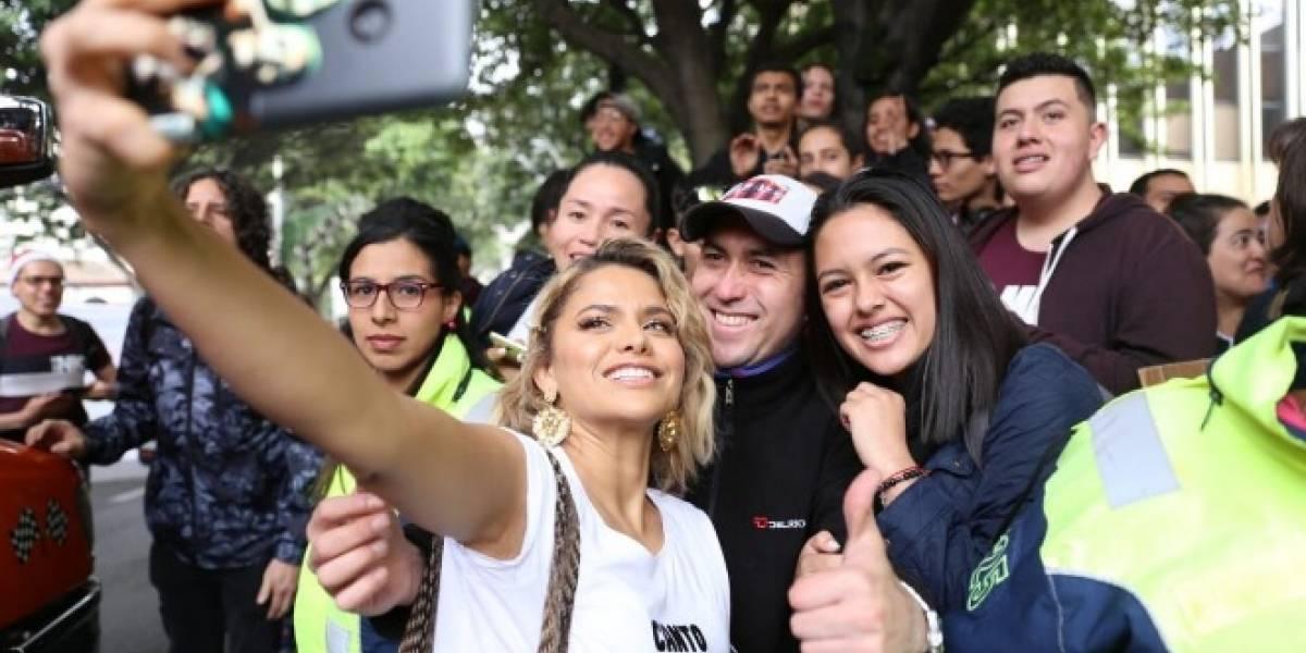 ¿Por qué Adriana Lucía decidió involucrarse con el paro a pesar de las críticas?