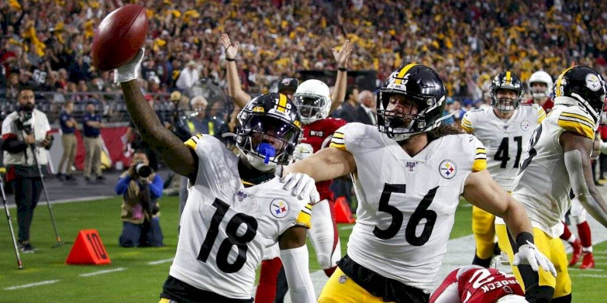 Steelers vence a Cardinals y se mantienen en la lucha por los playoffs