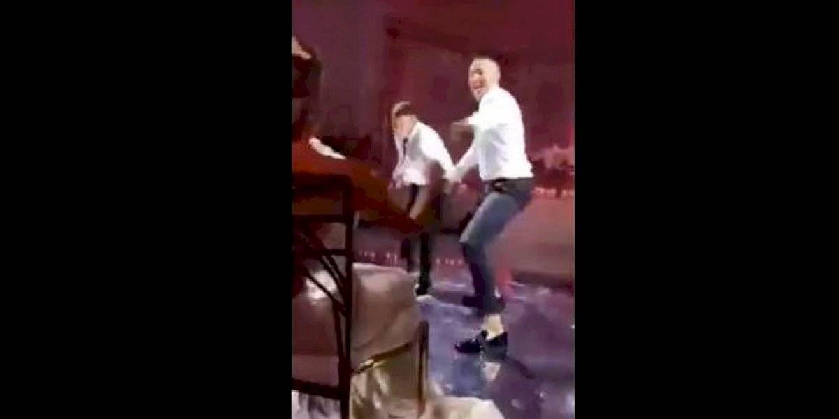 Correa dio lección de perreo en su boda, al ritmo de Daddy Yankee