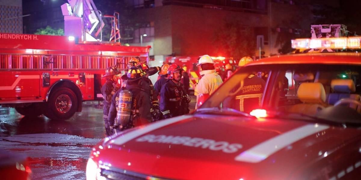 PDI capturó a bombero acusado de participar en incendios en Rancagua