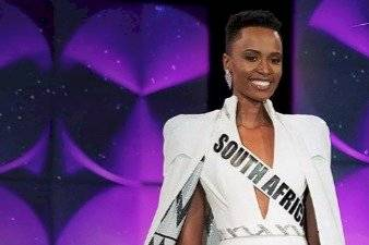 Miss Sudáfrica, Zozibini Tunzi,